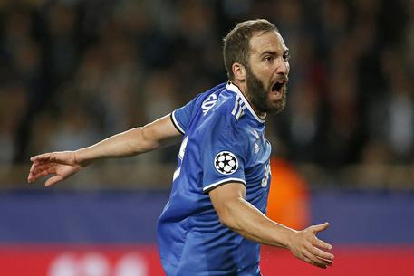 Champions: Monaco-Juve 0-2,super Higuain F913943012a3924c750e81cdc3105028