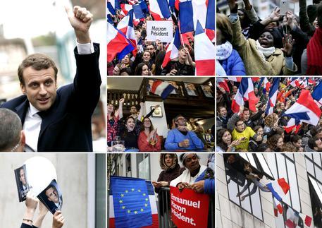 Dal mondo/Elezioni Francia: Macron presidente. Il più giovane dell'Eliseo