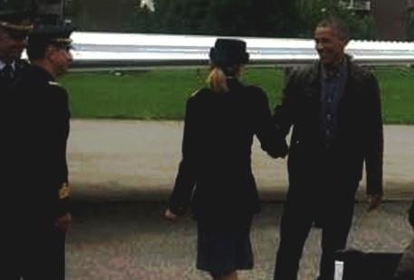 Barack Obama arrivato a Milano © ANSA