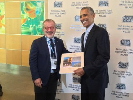 Obama: Maroni, spero sia testimonial buon cibo lombardo e italiano