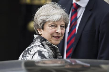 Theresa May © EPA