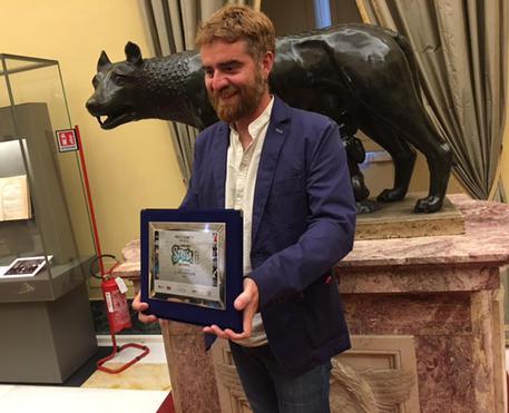 ++ Premio Strega Giovani a Paolo Cognetti ++ © ANSA