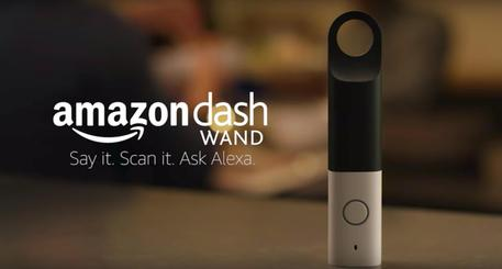 Amazon Dash Wand, l'assistente virtuale fa la spesa e suggerisce ricette