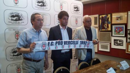 Serie B, Pro Vercelli: ufficiale, Grassadonia è il nuovo tecnico