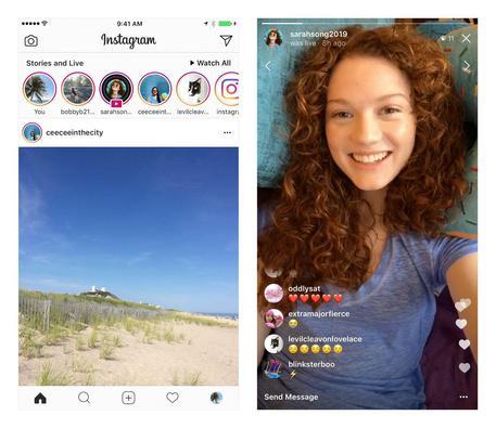 Instagram Stories raggiunge i 250 milioni di utenti attivi ogni giorno