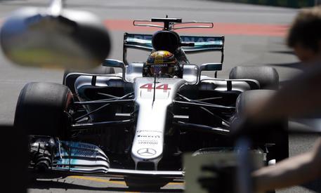 La Mercedes di Hamilton