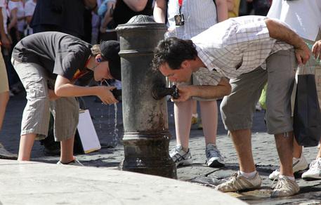 Roma: causa siccità si valuta la chiusura dei