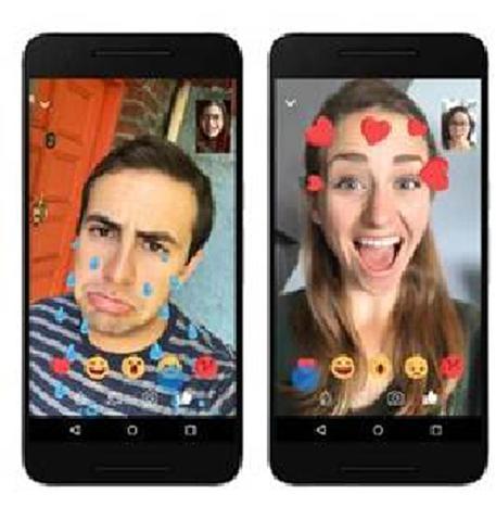 Facebook Messenger, in arrivo nuovi filtri e maschere nelle video chat