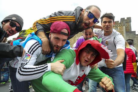 Tifosi a Cardiff © EPA