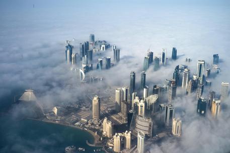 Una veduta di Doha, Qatar © EPA