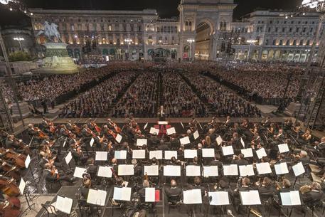 Sicurezza, misure al massimo per il grande concerto della Filarmonica della Scala