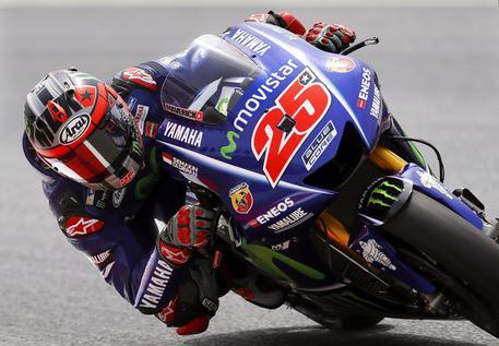 Assen, Valentino Rossi solo quinto nelle prime libere del Gp d'Olanda