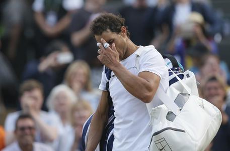 Wimbledon: Nadal fuori, Murray e Federer ai quarti