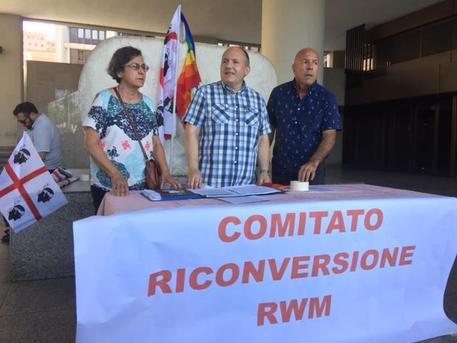 Comitato, ora riconversione Rwm Sardegna