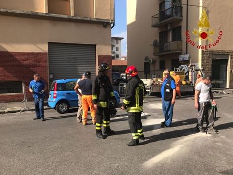 Firenze, fuga di gas in strada: evacuati 4 palazzi