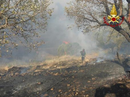 Incendi in Provincia: la situazione aggiornata