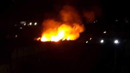 Palermo, incendio doloso nella notte domani dai vigili del fuoco$