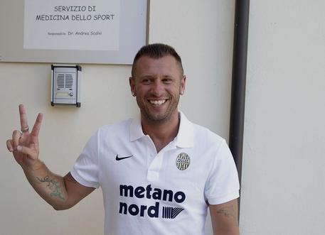 Antonio Cassano lascia il Verona ma non il calcio, dice