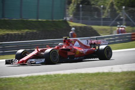 Formula 1, a Spa Raikkonen il più veloce nelle prime libere