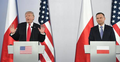 Trump in Polonia: