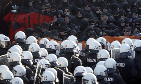 Protest against G20 Summit in Hamburg © EPA