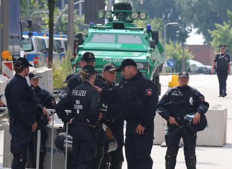 Polizia tedesca in una foto d'archivio © EPA