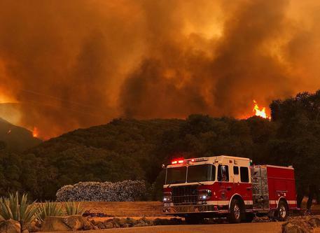 Emergenza incendi in California: evacuate numerose abitazioni