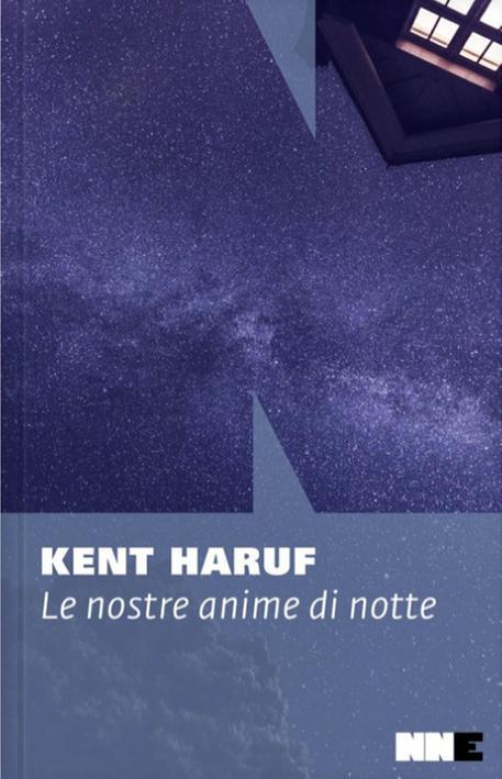 La copertina del libro di Kent Haruf 'Le nostre anime di notte' © ANSA