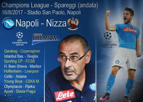 Napoli-Nizza, diretta TV e streaming: dove vedere la partita