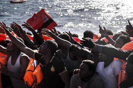 Operazione di soccorso ai migranti © AP