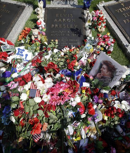 Elvis Presley, Graceland rende omaggio a 'The King' © AP