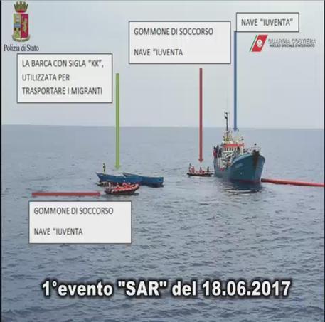 Inchiesta Ong-Migranti: le intercettazioni che incastrano la nave