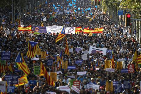 A Barcellona striscione 'No Tinc Por'