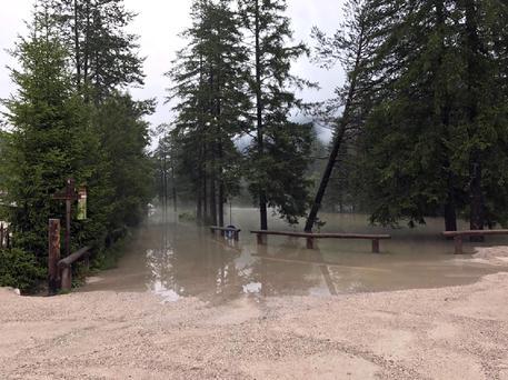 In Val Pusteria gravi danni, strade chiuse per frane