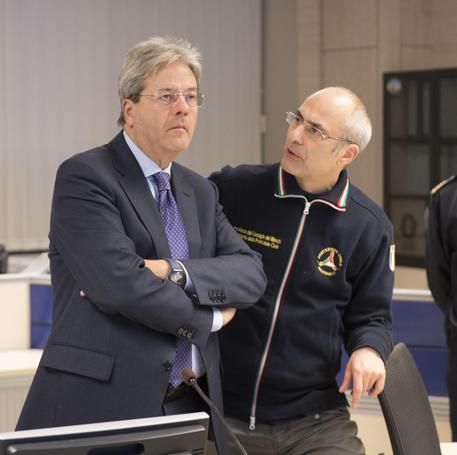 Curcio lascia Protezioni civile, Gentiloni nomina Borrelli © ANSA