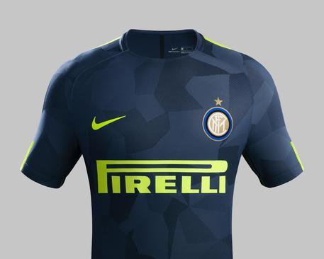 Inter, ecco la terza maglia