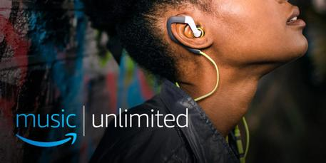 Amazon Music Unlimited sbarca in Italia