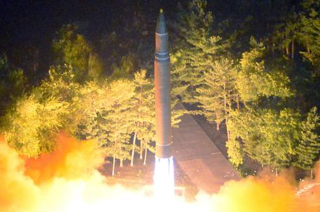 North Korea launches unidentified missile over Japan