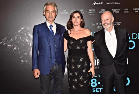 Bocelli a anteprima film su sua vita da ansa