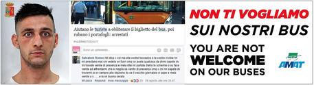Palermo, campagna Amat contro il borseggiatore$