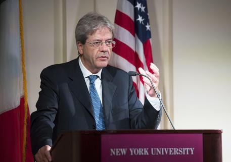 Gentiloni a New York:
