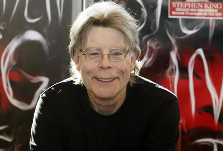 Lo scrittore Stephen King © AP
