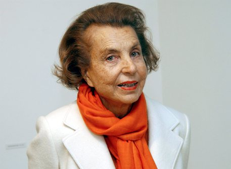 Liliane Bettencourt © EPA
