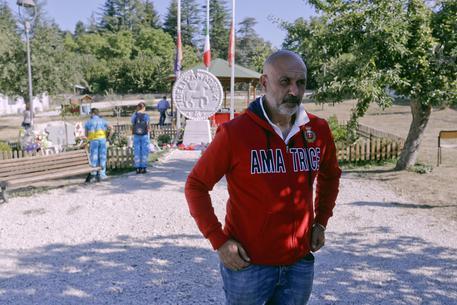 Il sindaco di Amatrice, Sergio Pirozzi © AP