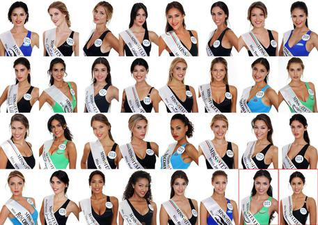 Le Miss in finale © ANSA