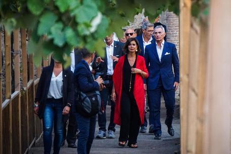 Presidenti parlamenti G7 a Napoli dimensione font +