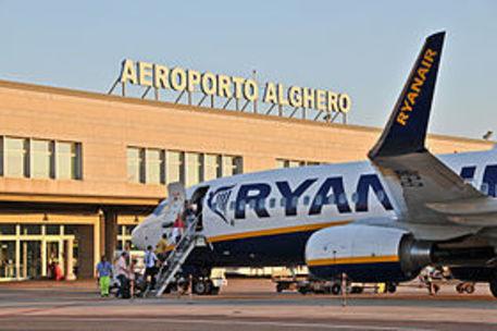 Aeroporto Alghero © ANSA