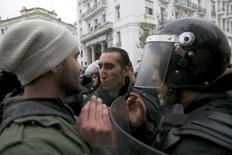 Proteste in Tunisia © AP