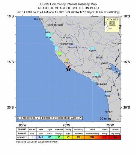 Scossa in Honduras, è allarme tsunami Subito attivato il sistema di emergenza