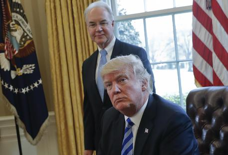Donald Trump,Tom Price © AP